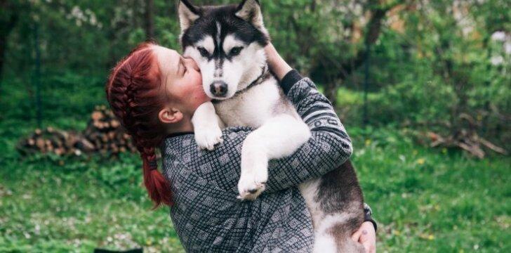 Septyniolikmetė Margarita: mano šunys tarsi dvi mano charakterio pusės