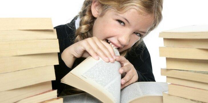 Jeigu grauši knygas, ir valgyti mažiau norėsis...