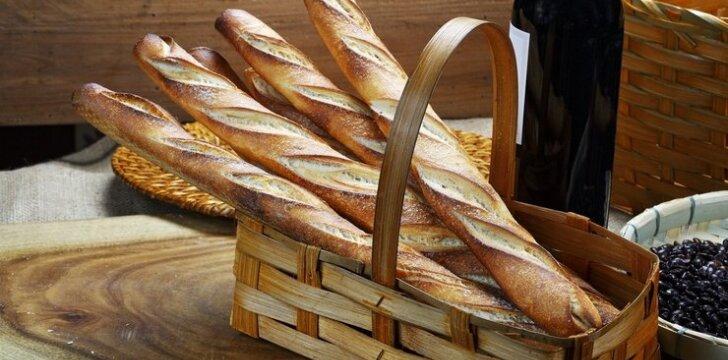 Prancūziškos duonos istorija ir populiarioji bagetė