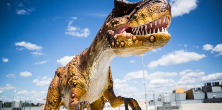 Vilniuje tuoj duris atvers Dinozaurų parkas