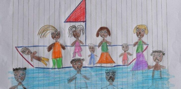 Kaip iš piešinio suprasti vaiko savijautą ir emocijas?