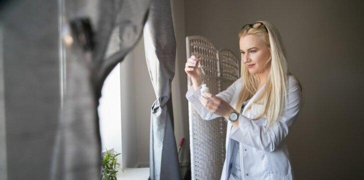 """Jaunoji kosmetologė: """"Kosmetologija skirta merginoms, negalinčioms be grožio ir estetikos""""(FOTO)"""