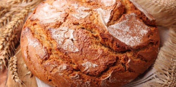 Sveika duona be glitimo
