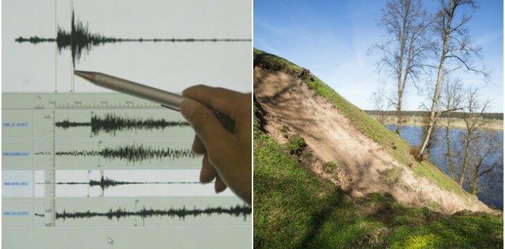 Žemės drebėjimai (asociatyvi nuotrauka)