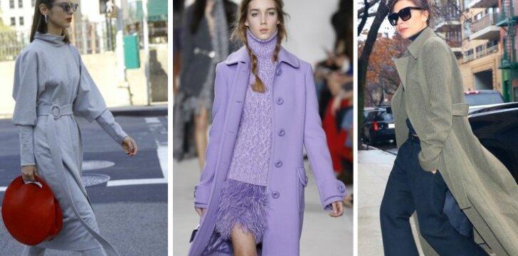 Šiltai ir elegantiškai: 4 aprangos idėjos žiemai