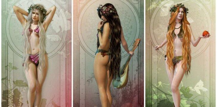 """Kuri graikų <span style=""""color: #c00000;"""">deivė tave valdo</span> pagal gimimo datą"""