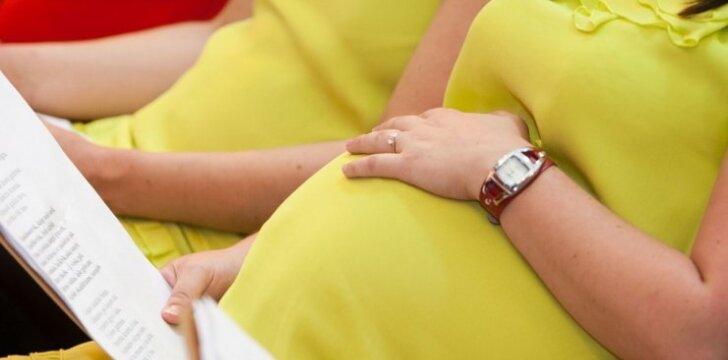 """<span style=""""color: #ff0000;"""">Beveik 500 nėščiųjų</span> - reginys, kurį pamatysi tik kartą per metus"""