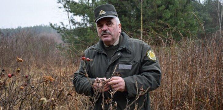 Girininkas Marijonas Vilkelis