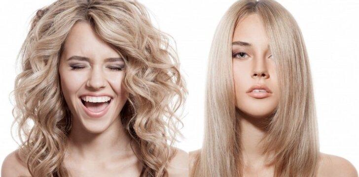 """Grožio salonas namuose: <span style=""""color: #ff0000;"""">plaukų laminavimas</span> su želatina"""