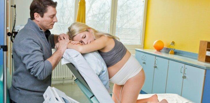 Kokiais atvejais vyro geriau nesivesti į gimdyklą