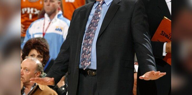 """""""Nuggets"""" treneris George'as Karlas"""