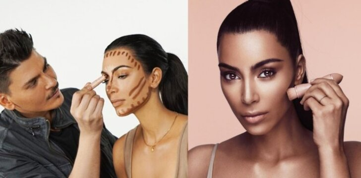 Merginos rėžė atvirai, ką mano apie Kim Kardashian kosmetikos liniją: kontūravimo karalienė susimovė!