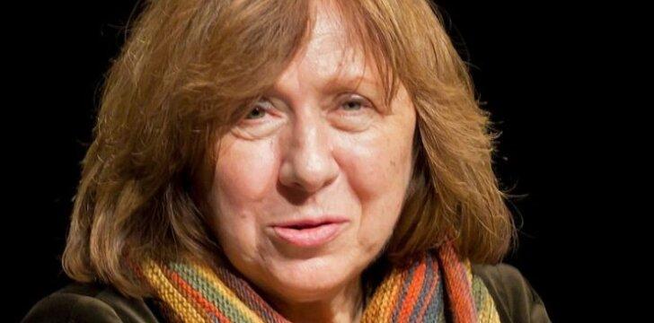 Į Lietuvą atvyksta Nobelio premijos laureatė rašytoja Svetlana Aleksijevič