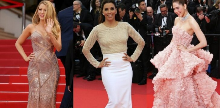 """Gražiausios Kanų kino festivalio suknelės <sup><strong><span style=""""color: #ff0000;"""">FOTO</span></strong></sup>"""