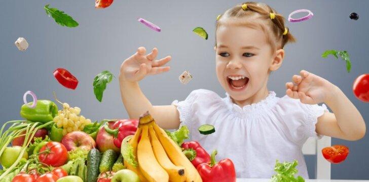 Ką daryti, kad ir išrankiausias vaikas valgytų daugiau daržovių?