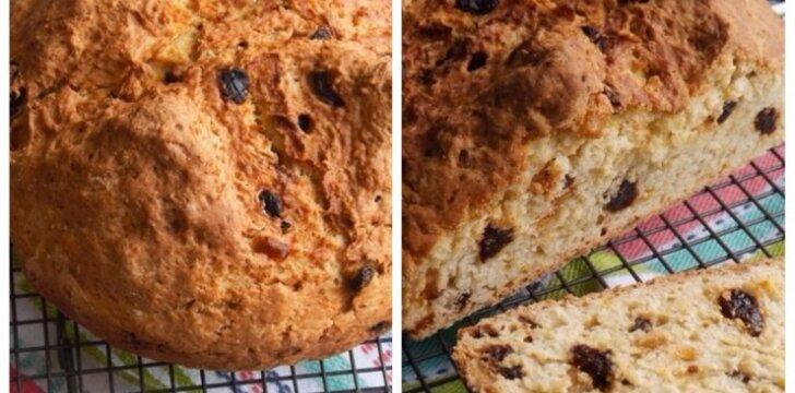 Airiška duona su razinomis