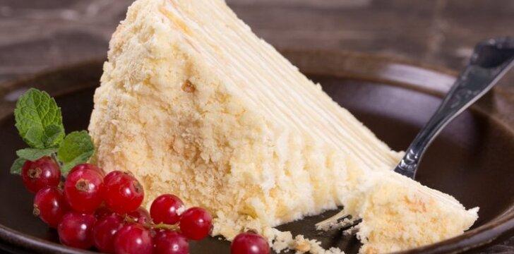 """Tortas """"Napaleonas"""""""