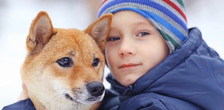 Šunų veislės, geriausiai atliekančios auklės vaidmenį mažyliams