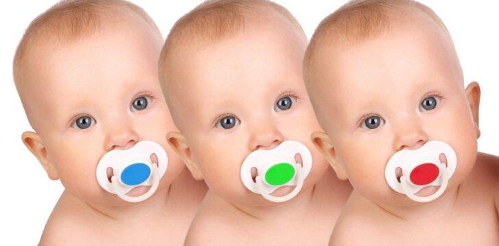 Trys seserys pagimdė tris sūnus vieną mėnesį