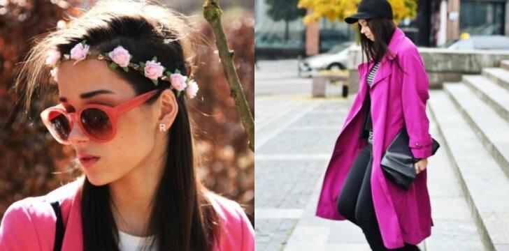 Mados blogerių tendencija - rožinis pavasaris(FOTO)