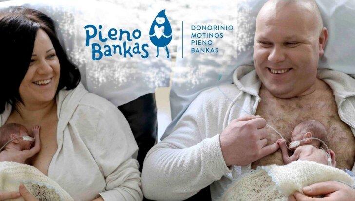 Vaikus žindančios moterys kviečiamos tapti motinos pieno banko donorėmis