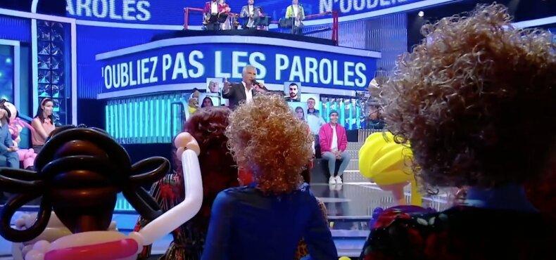 Prancūzijos karaokės šou filmavimas