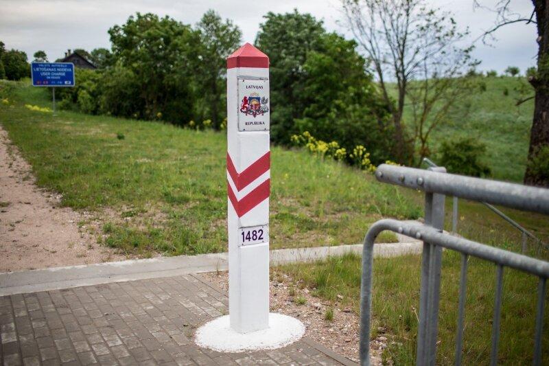 Latvijos Respublikos pasienio ženklas