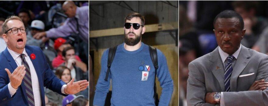 """""""Mirusios"""" trenerių draugystės fone Valančiūnas pažvelgė į skaudžiąją NBA realybės pusę"""