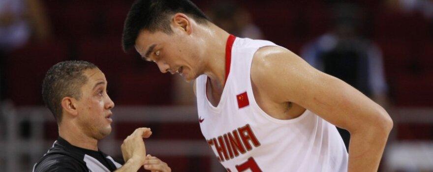Už dėjimą per Yao Mingą JAV rinktinės žaidėjas būtų gavęs milijoną