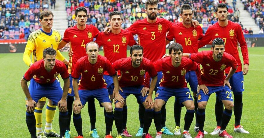 Ispanijos rinktinė