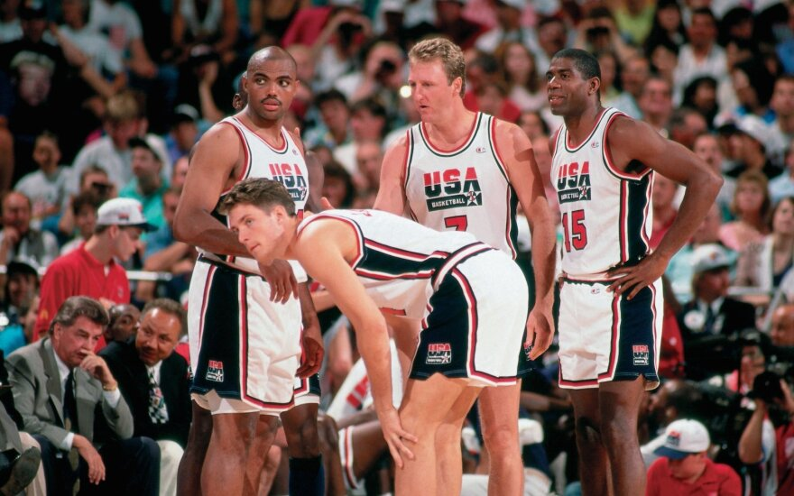 Charlesas Barkley, Christianas Laettneris, Larry Birdas, Magicas Johnsonas