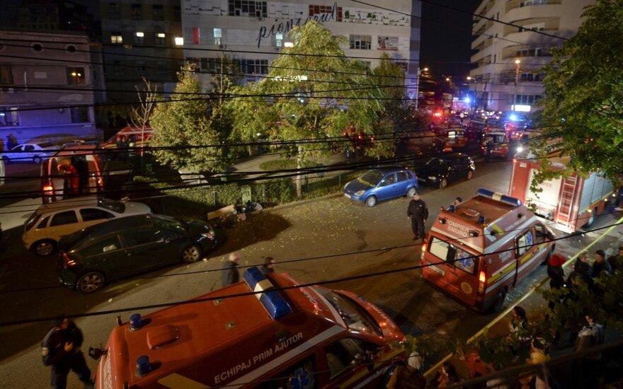 Tragedija Rumunijoje – per sprogimą naktiniame klube žuvo kelios dešimtys žmonių