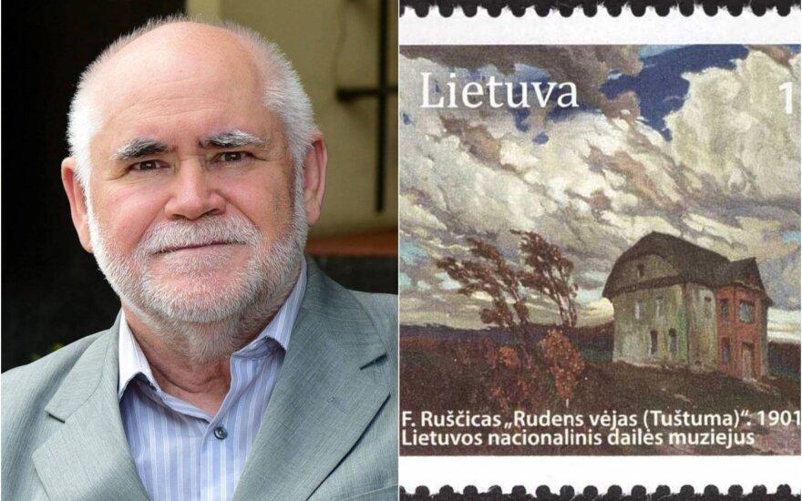Antanas Jankauskas / Pašto ženklas iš asmeninės kolekcijos