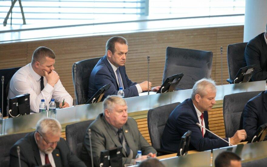 Seimas kyla į galutinę kovą dėl reformos