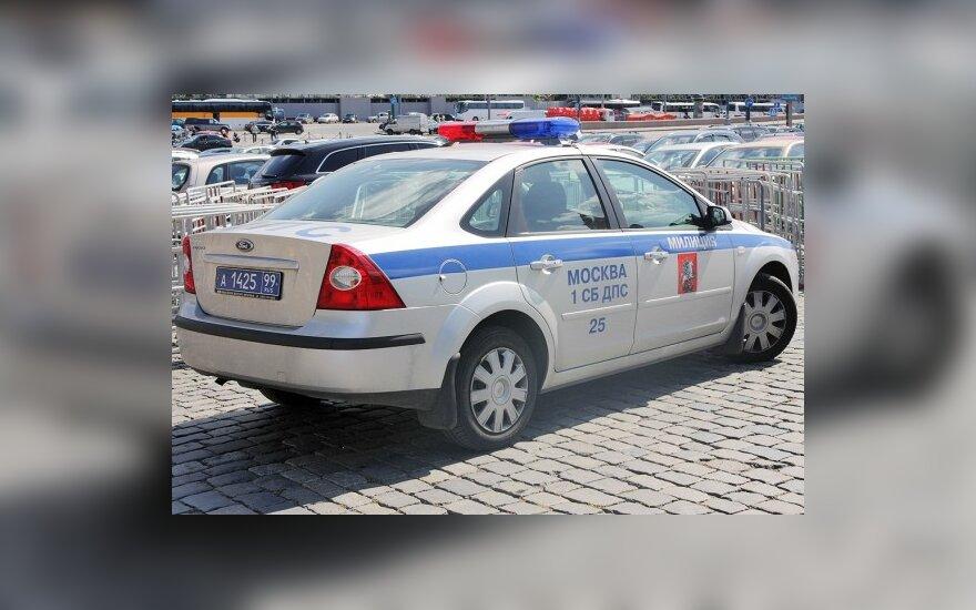 Per pusmetį 14 tūkst. maskviečių neteko vairuotojo pažymėjimo