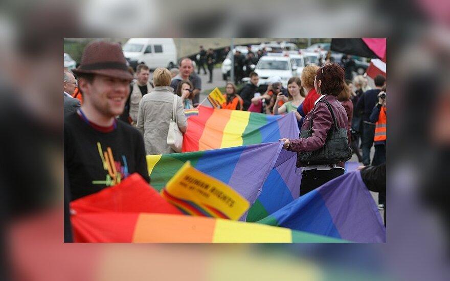 Kitąmet Vilniuje vėl planuojamos homoseksualų eitynės