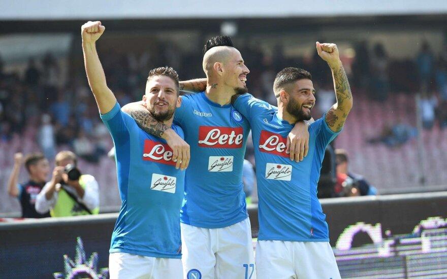 """Napoli"" futbolininkai"