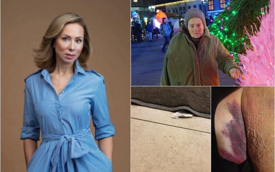 Jolanta Sadauskienė ieško sunkiai sužalotai mamai padėjusių praeivių