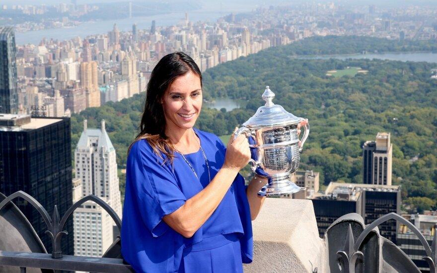 Niujorke triumfavusi F. Pennetta pakilo į rekordinę vietą WTA reitinge