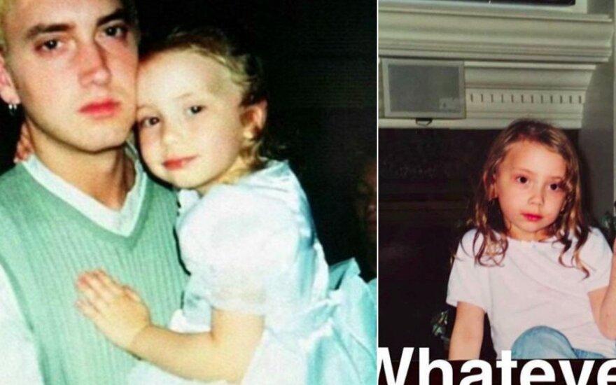 Eminemo dukra Hailie Scott Mathers