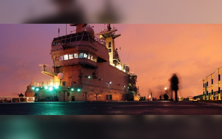 Mistral class ship