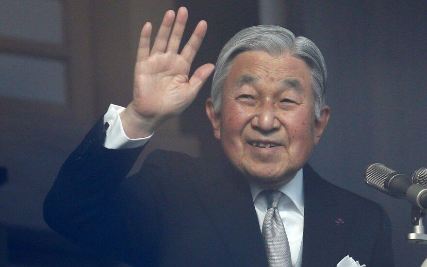 Sosto atsisakęs Japonijos imperatorius buvo trumpam nualpęs