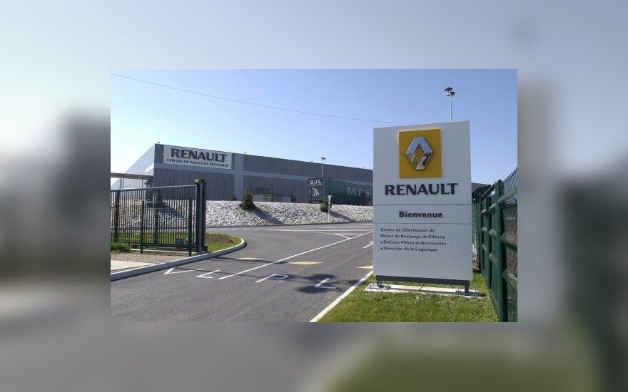 """""""Renault-Nissan"""" aljansas ličio-jonų baterijas gamins ir Portugalijoje"""