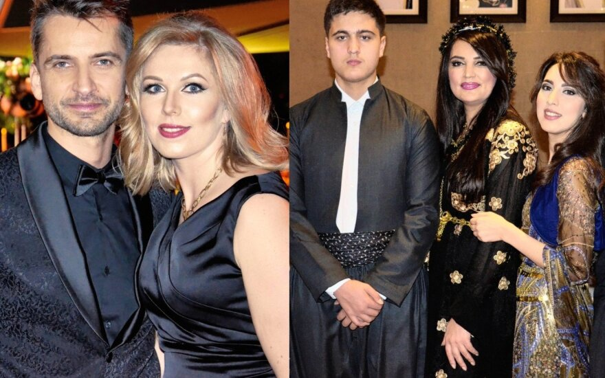 Alanas Chošnau su šeima