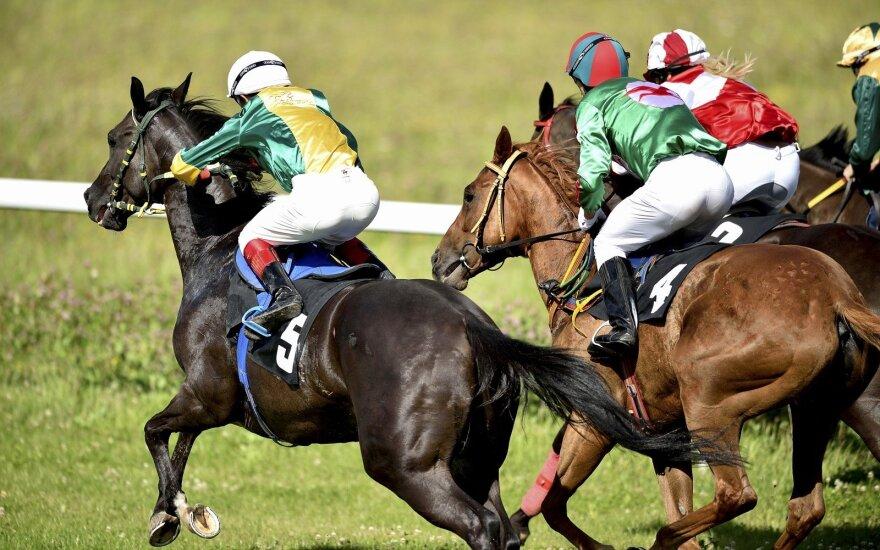 Lygiosios žirgų lenktynės (A. Kazlausko nuotr.)