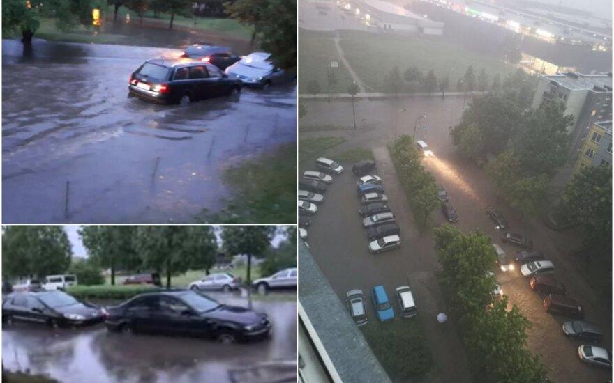 Situacija Šiaulių mieste