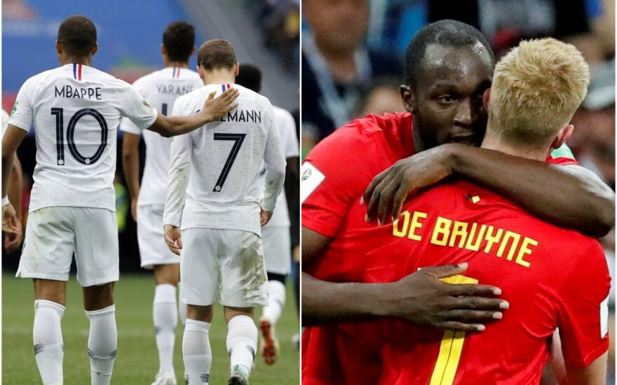 Prancūzijos ir Belgijos rinktinės