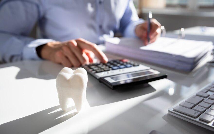 Šešėlio rizika odontologijos sektoriuje