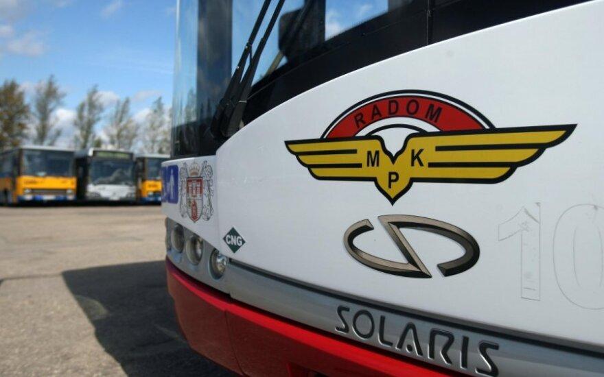 Autobusas Solaris Urbino 12 CNG
