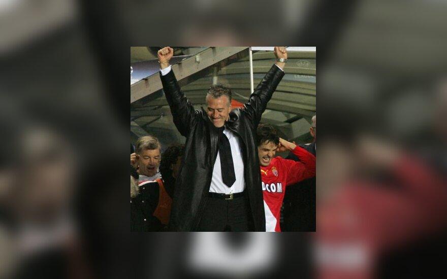 Didier Deschamps, Fernando Morientes švenčia pergalę